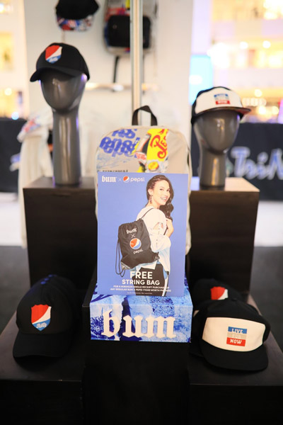 BUM collaborates with Pepsi for a Limited Collection