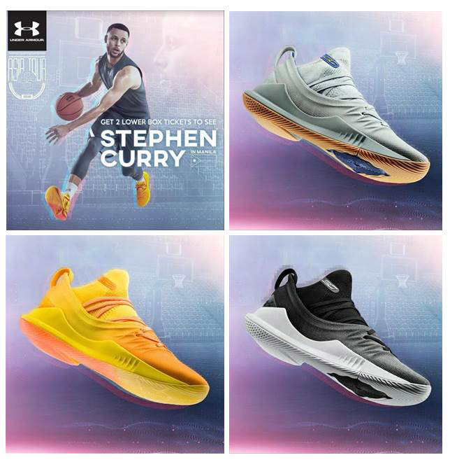 How to score a ticket to Steph Curry in Manila 2018 event