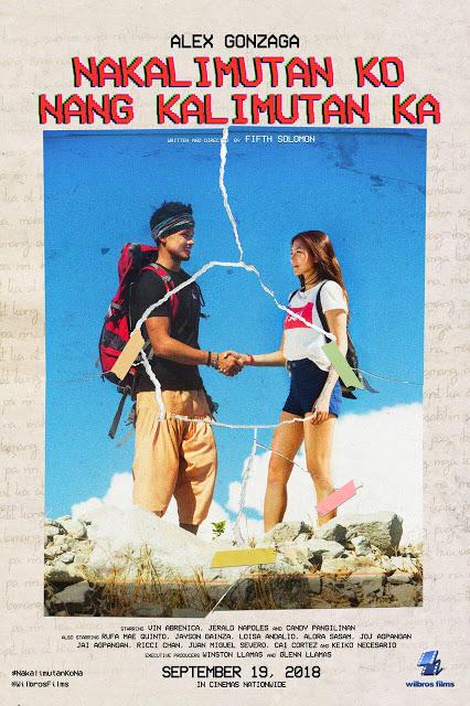 Nakalimutan Ko Nang Kalimutan Ka opens today in Cinemas Nationwide