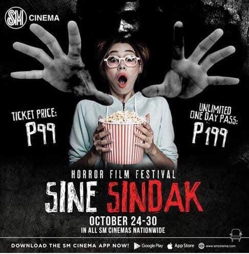 Scream Fest: 1st Sine-Sindak Horror Film Festival at SM Cinemas