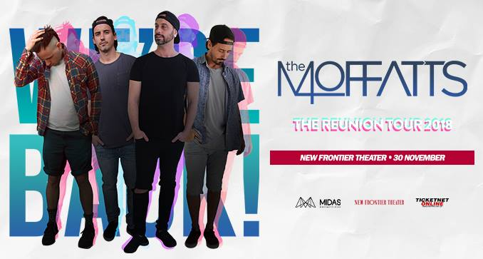 Your last chance to catch The Moffatts in Manila this year