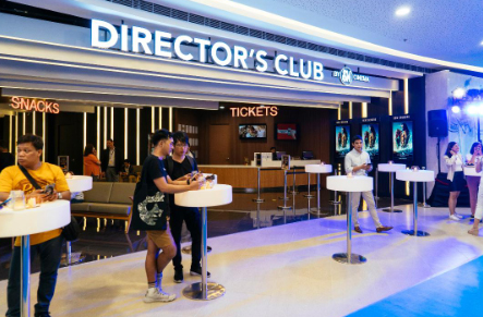 Feel the Luxury at Director's Club Cinema – The Podium