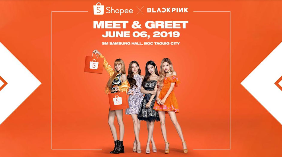 How to get exclusive tickets to the Shopee X BLACKPINK Meet and Greet