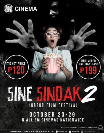 SM Cinema's Sine Sindak Horror Film Festival is back to give moviegoers full-on fright fix