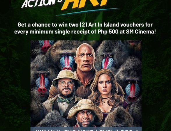 Join the SM Cinema brings Jumanji: Next Level promo