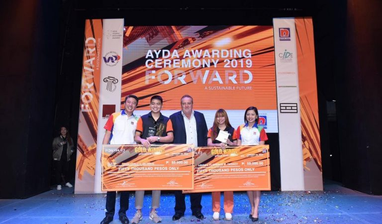 Nippon Paint recognizes winners of the Asia Young Designer Award (AYDA) Philippines 2019