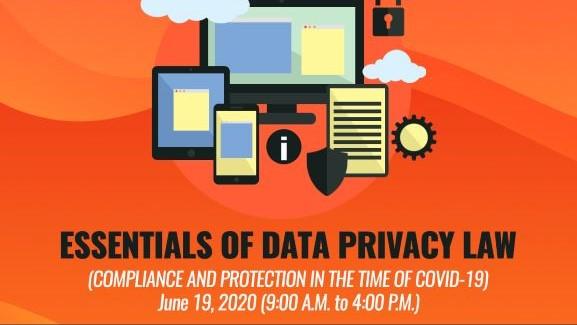 Online Workshop: Essentials of Data Privacy Law