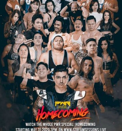 PWR Special: Homecoming now available on pay-per-view