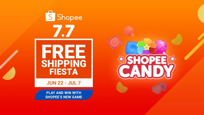 Play Shopee Candy and Win a Brand New Laptop and Smartphone
