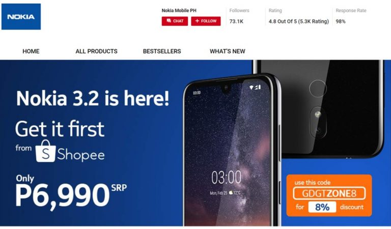 Shopee Exclusive: Get your hands on the new Nokia 2.4 available