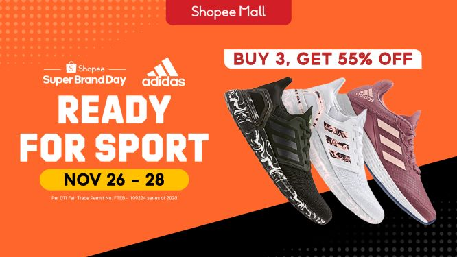 adidas Launches First Regional Shopee Super Brand Day