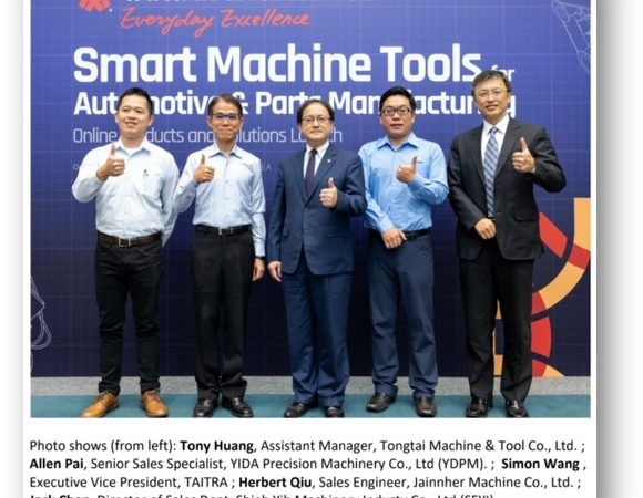Taiwan's Smart Tools for Automotive Manufacturing Ride the Wave with Innovation