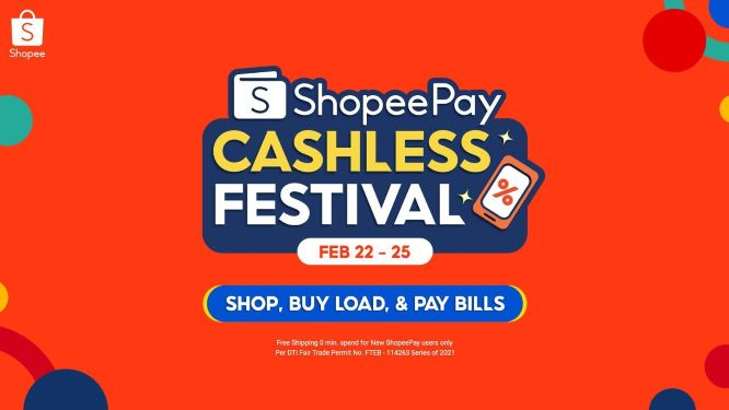 Free Shipping, Cashback, and More during 3.3 ShopeePay Cashless Festival
