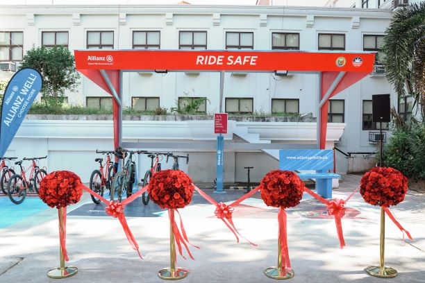 Allianz PNB Life shows support bike safety and green mobility