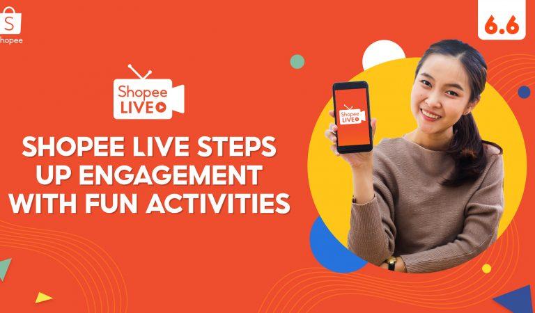 Shopee Live 6.6-7.7 Mid-Year Sale featuring Bida Sa Pagalingan, Stream & Win, and Suki Marathon