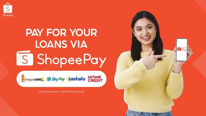 How to pay loans via ShopeePay
