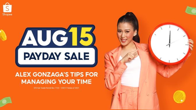 Shopee Princess Alex Gonzaga how to Manages Time with Productivity-Boosting Items
