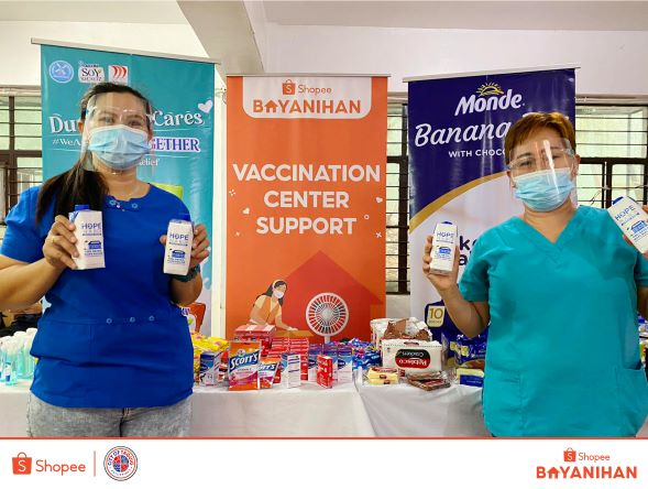 Shopee partners with Taguig LGU in  Vaccination Efforts