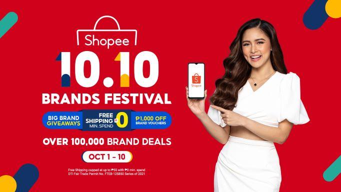 Kim Chiu announced as Shopee Brand Ambassador to Kick Off the 10.10 Brands Festival