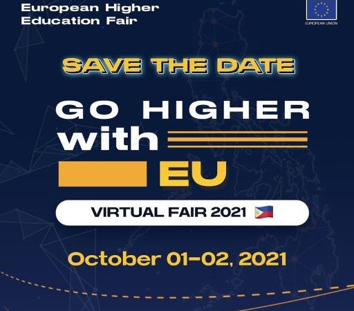 Go Higher with EU at the 2021 Virtual EHEF Philippines on October 1