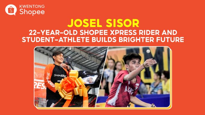 Shopee Xpress Rider and Student-Athlete Builds a Brighter Future Through Diskarte and Discipline
