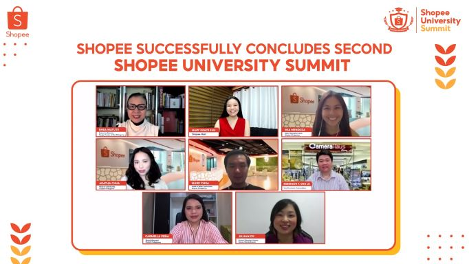 2nd Shopee University Summit successfully conducted with more than 35,000 online viewers